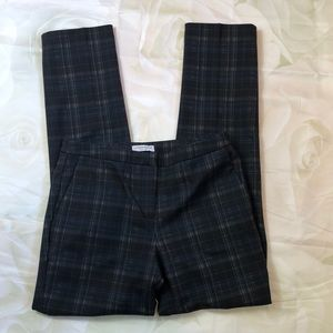 Katherine Barclays heavyweight plaid trouser